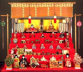 Doll Altar (Kyoto National Museum)